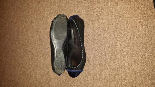 Leifsdottir Black and Blue Flats