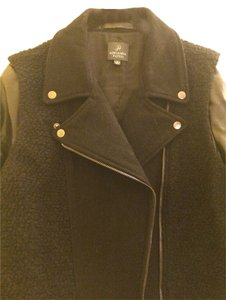 Adrianna Papell Leather Jacket