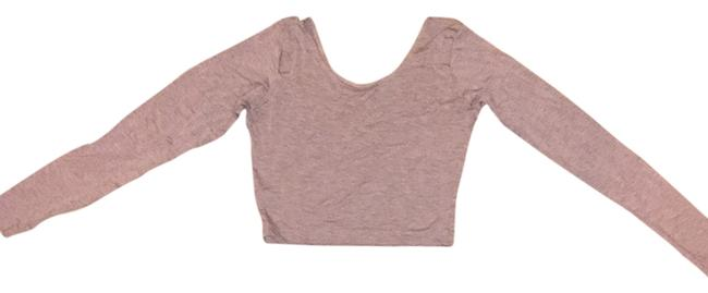 American Apparel Top Heather Oatmeal
