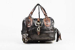Chloé Chloe Metallic Brown Shoulder Bag