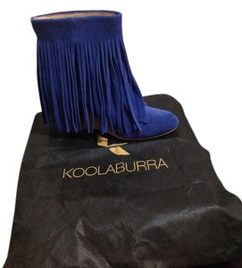 Koolaburra Cobalt blue Wedges