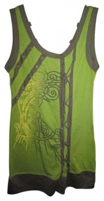 Preload https://item4.tradesy.com/images/green-tank-topcami-size-12-l-147783-0-0.jpg?width=400&height=650