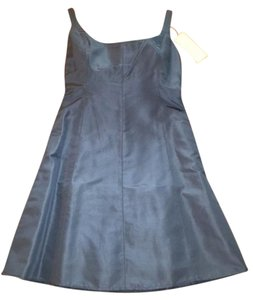 J.Crew Scoop Back Fit And Flare Dress