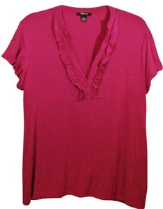 Style & Co Stretchy Plus-size Top Fuchsia