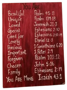 Other Bible verses - You are !