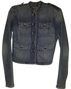 Ralph Lauren Jean All Buttons Lengthy Sleeves Can Roll Sleeves VINTAGE Blue denim, irreplaceable as it's never been worn and in same condition since purchased in the 80's Womens Jean Jacket