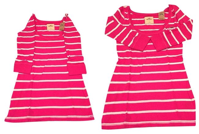 Preload https://item1.tradesy.com/images/hollister-pink-blouse-size-4-s-1478005-0-0.jpg?width=400&height=650