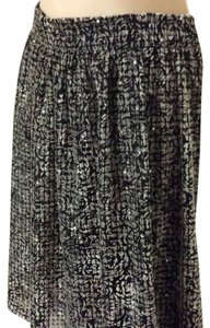 Giorgio Armani Skirt grey black melange