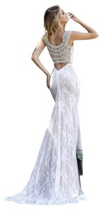 Sherri Hill Prom Wedding Lace Rhinestones Dress