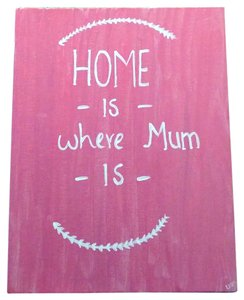 Mother's Day - Home is where mom is