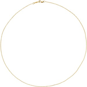 Wilson Cable Chain 14k Gold Solid