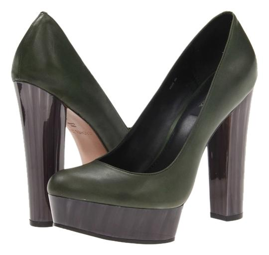 Rachel Zoe Dark Green Pumps