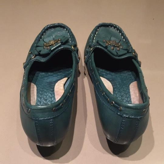 Hush Puppies Turquoise Jade Pumps