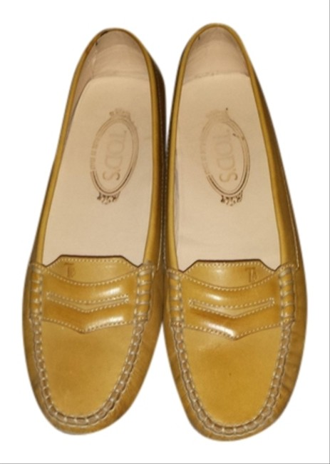 Tod's Yellow Flats Size US 8.5 Tod's Yellow Flats Size US 8.5 Image 1