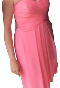 David's Bridal short dress Coral on Tradesy
