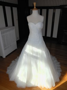 Pronovias Off White Dagen Destination Dress Size 14 (L)