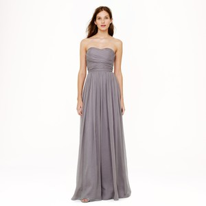 J.Crew Gray Arabelle Gown Dress
