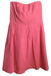 J.Crew short dress Coral/pink on Tradesy
