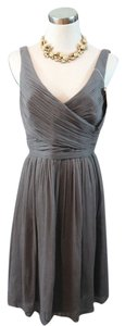 J.Crew Silk Chiffon Bridesmaid Flowy Petite Dress
