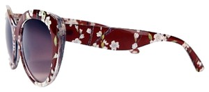 Highlights for Target. NEW with Tags Floral Patterned Brown Frame Oversized Sunglasses