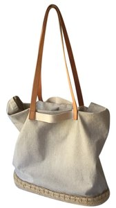 J.Crew Tote in Gray and White