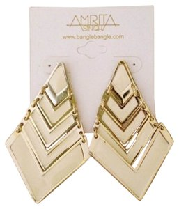 Amrita Singh Pyramid Drop Earrings
