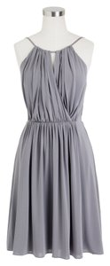 J.Crew Silk Chiffon Wedding Bridesmaid Liquid Dress