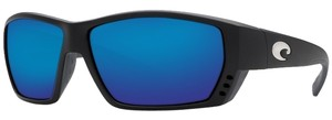 Costa Del Mar Costa Del Mar Tuna Alley Black/Blue Lens TA01OBMGLP Sunglasses