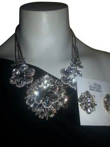 Badgley Mischka BADGLEY MISCHKA Stud Earrings PLUS STATEMENT NECKLACE