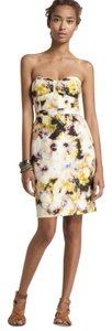 J.Crew Floral Bustier Cotton New Dress