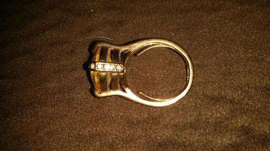 Juicy Couture yellow stone and butterfly