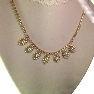 Collections by appealinglady Rhinestone And Pearl Necklace Bridal Or Special Event