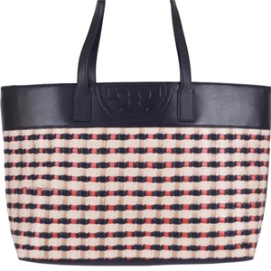 Tory burch straw soft tote Tote