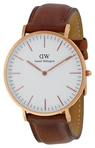 Daniel Wellington Daniel Wellington Men's 0106DW Analog Watch with White Dial