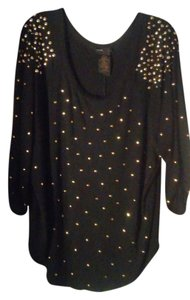 Grace Elements Top Black