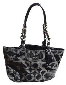 Coach Chain-link Tote in Black