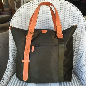 Bric's Olive Green Travel Bag