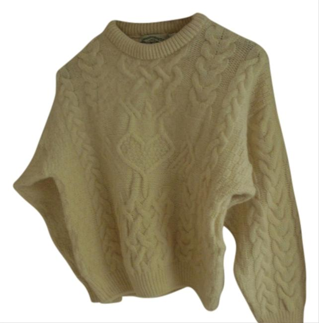 Aran crafts wool fisherman ireland sz l xl sweater 85 for Aran crafts fisherman sweater