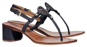 Tory Burch Navy blue Sandals