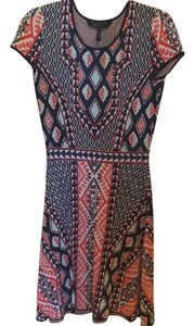 BCBGMAXAZRIA short dress Tribal print on Tradesy