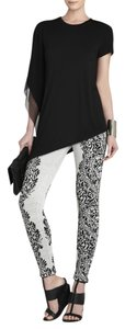 BCBGMAXAZRIA Bcbg Black and Grey Leggings