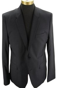Mens Hugo BOSS Aerin dark blue navy check Suit jacket blazer SZ 42 R NWT $545