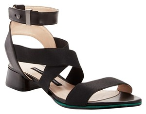 French Connection Gladiator Heels Black Sandals