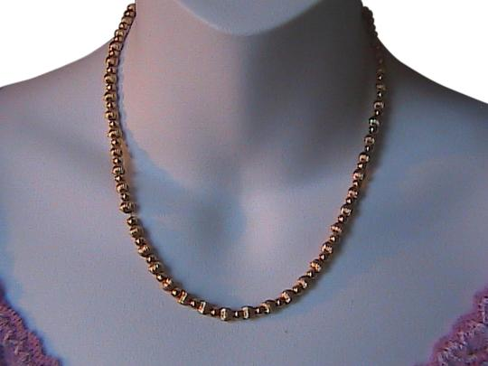 Other 14k Yellow Gold Bead Necklace