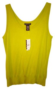New York & Company Knit Top Green