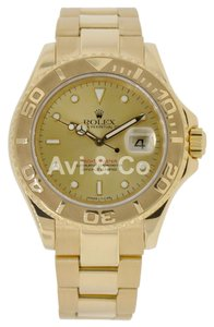 Rolex Rolex Yacht-Master 40 18K Yellow Gold Watch Champagne Dial 16628