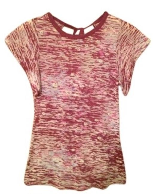 Preload https://item1.tradesy.com/images/free-people-multicolor-patterned-keyhole-tee-shirt-size-4-s-147865-0-0.jpg?width=400&height=650