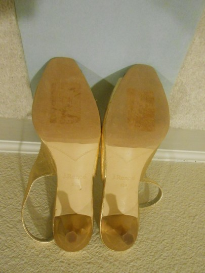 J. Reneé Gold Sandals