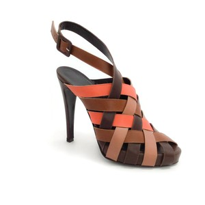 Hermès Brown / Orange Sandals