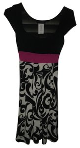B. Darlin Polyester Stretchy Paisley Dress